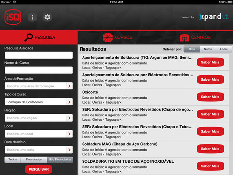 1. app isq ipad