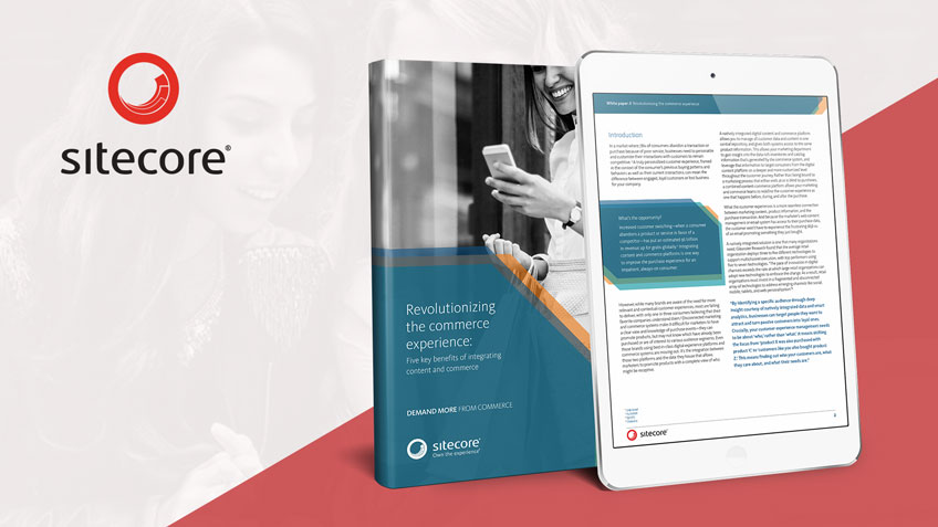 [Free e-book]: Sitecore Revolutionizing the Commerce Experience