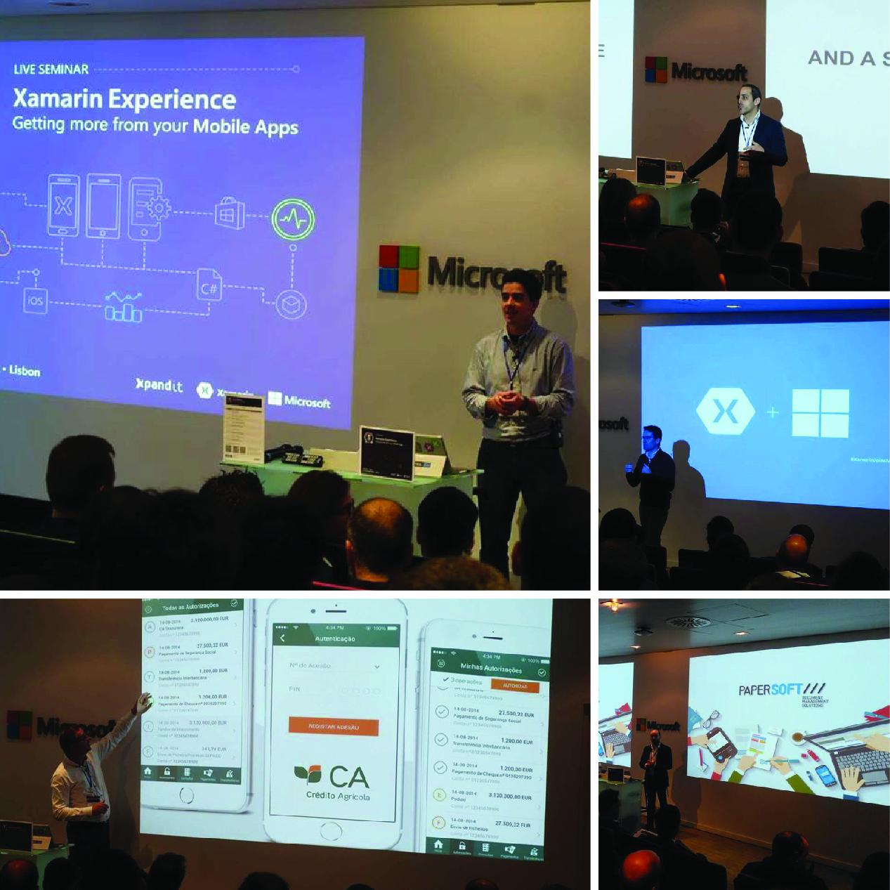 Xamarin Experience 2016 in Lisbon