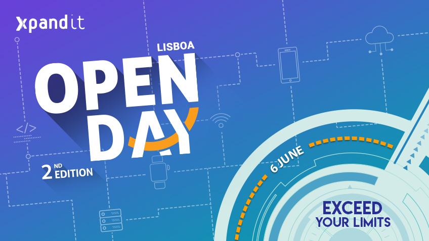 """Xpand IT agenda 2ª Edição do """"Open Day"""""""