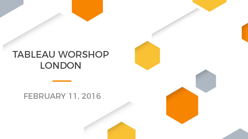 Tableau Worshop in London