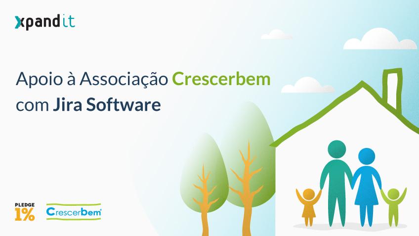 Pledge 1%: O apoio à Associação Crescerbem com Jira Software