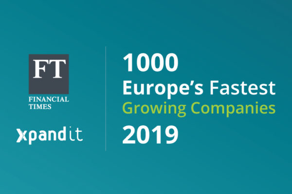 Xpand IT enters the FT1000 ranking: Europe's Fastest Growing Companies