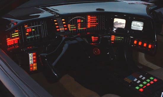 cockpit do carro KITT - implementar bpm numa organização