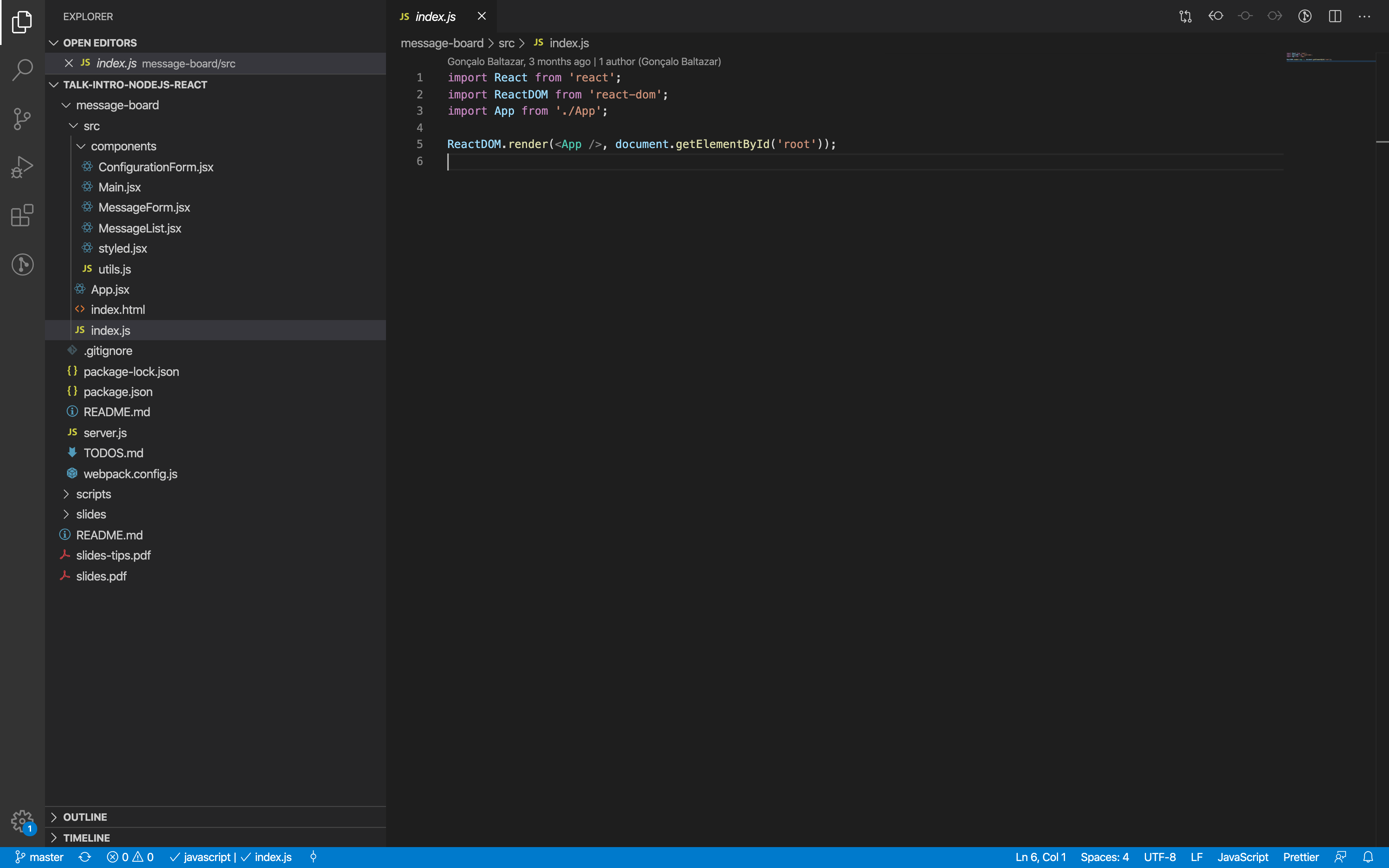 Dev Talks Webinar React