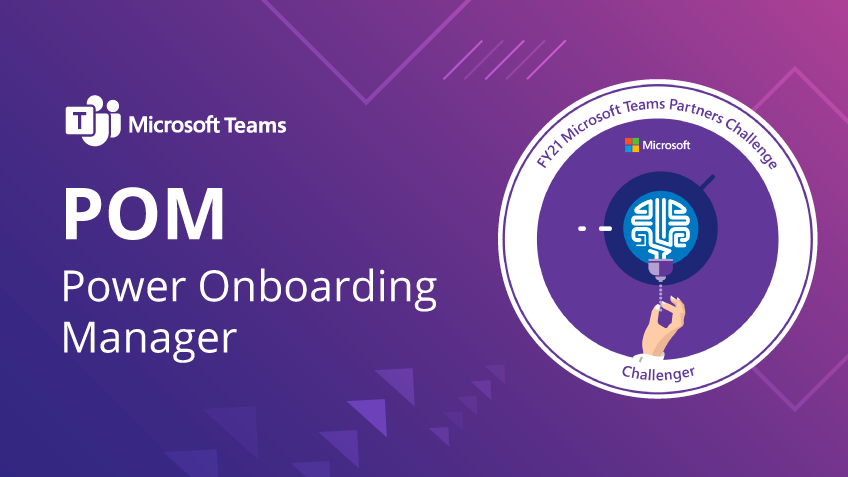 The onboarding process with Microsoft Teams (and automation!)