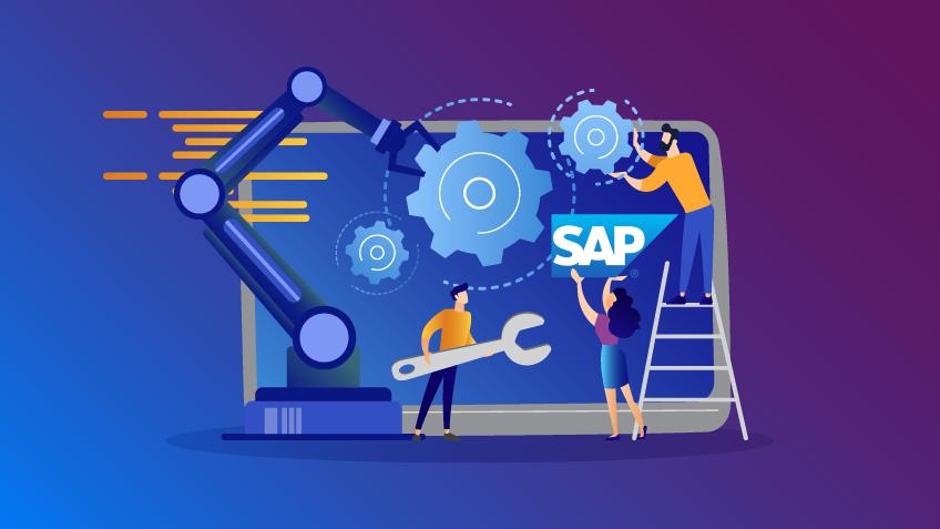 automatização de processos em SAP