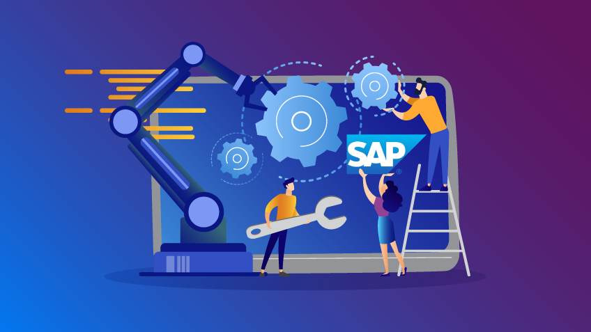 process automation in sap